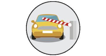 Sistemas de control de accesos vehiculares y peatonales
