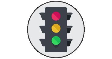 Semáforos y señalización